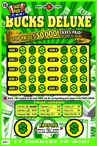 Taxes Paid Bucks Deluxe