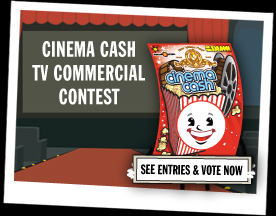 Cinema Cash Video Contest - Vote Now