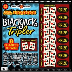 Blackjack Tripler