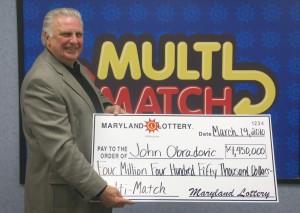 John Obradovic - $4.45M Multi-Match