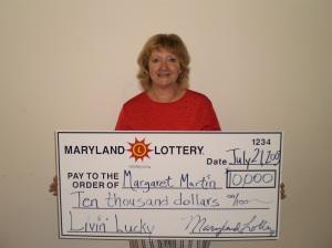 Margaret Martin - Livin' Lucky