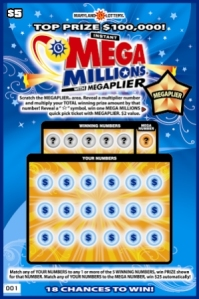 Mega Millions Scratch-off