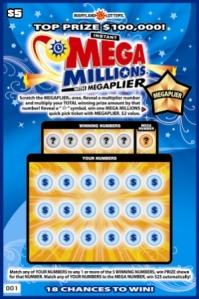 Mega Millions Scratch-off