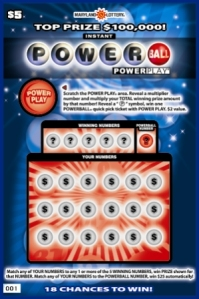 Powerball Scratch-off